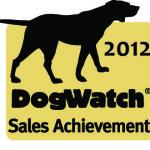 2012 DogWatch Sales achievement award