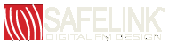 SafeLink trademarked FM digital signal logo