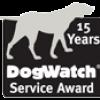 15 year service award badge